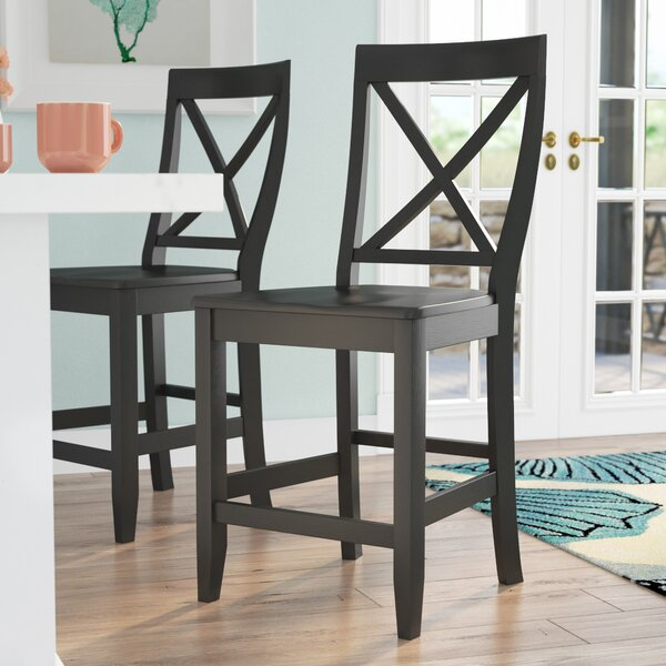 Delaine 24 Bar Stool (Set of 2) by Beachcrest Home