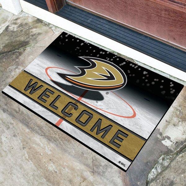 NHL Rubber Doormat by FANMATS