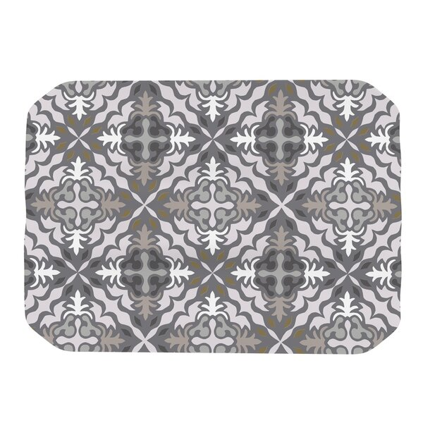Let In Snow Placemat by KESS InHouse