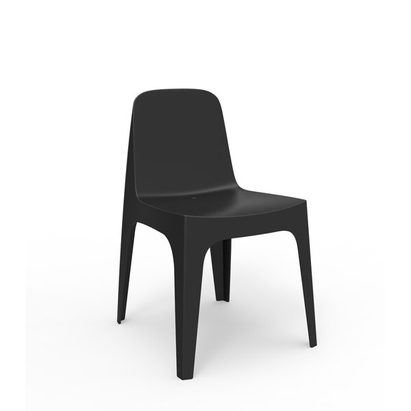 Solid Stacking Patio Dining Chair by Vondom