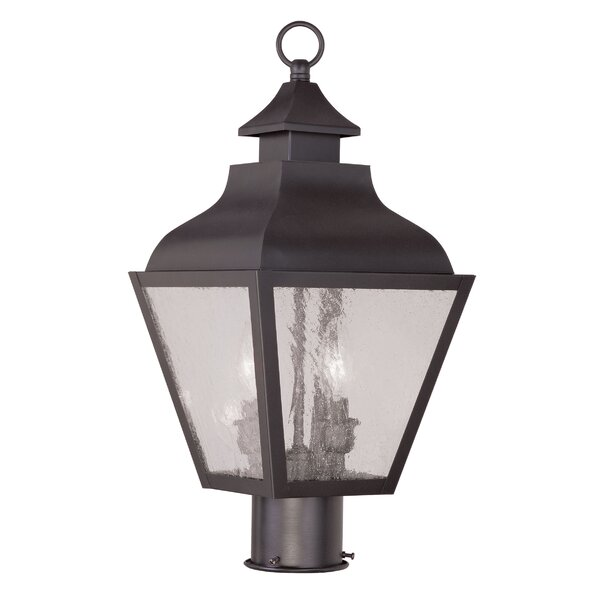 Santillo Outdoor 2-Light Lantern Head by Alcott Hill