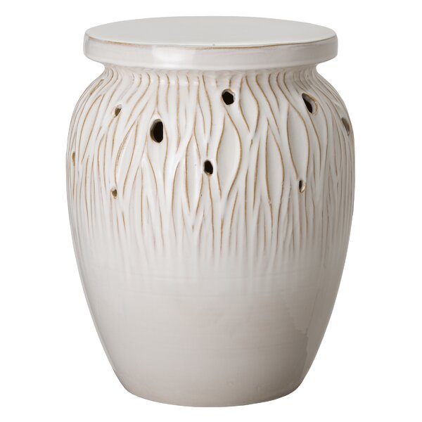 Phillipe Garden Stool by World Menagerie World Menagerie
