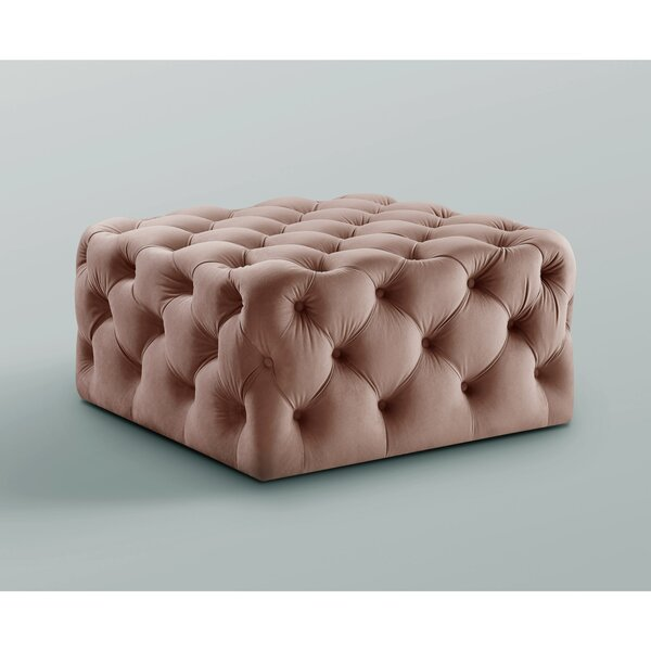 Mudd Square Tufted Cocktail Ottoman by House of Hampton