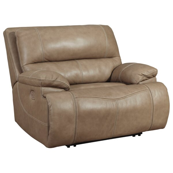 Alvey Genuine Leather Power Recliner W002611670