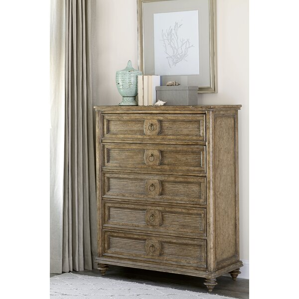 Gerakies 5 Drawer Chest by Bay Isle Home
