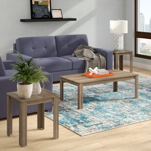 Bullsbrook 3 Piece Coffee Table Set Zipcode Design