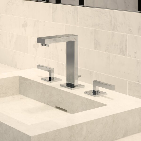 Duro Mount Widespread Bathroom Faucet with Drain A