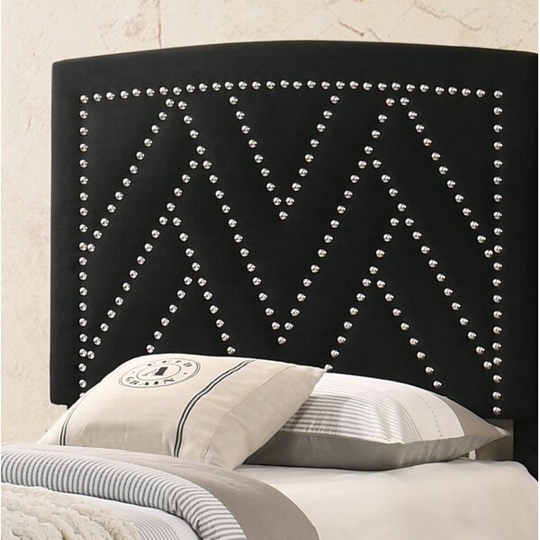 Delossantos Upholstered Panel Headboard by Everly Quinn Everly Quinn