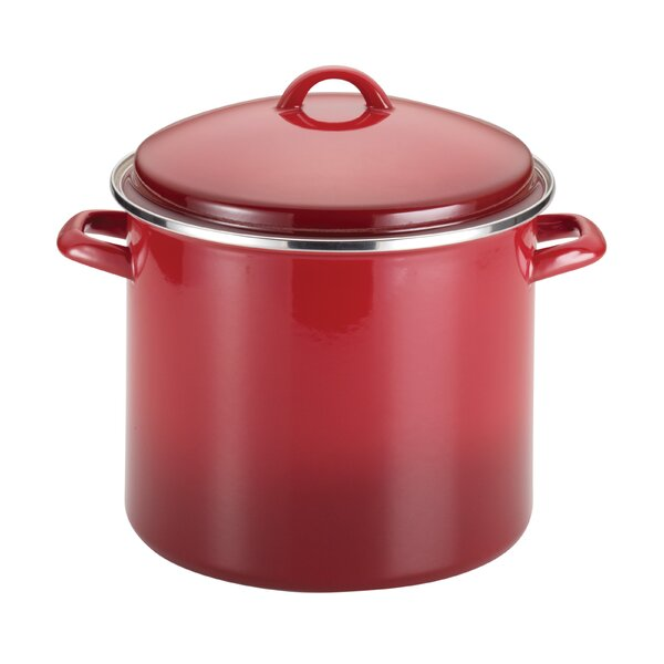12 Qt. Stock Pot with Lid by Rachael Ray