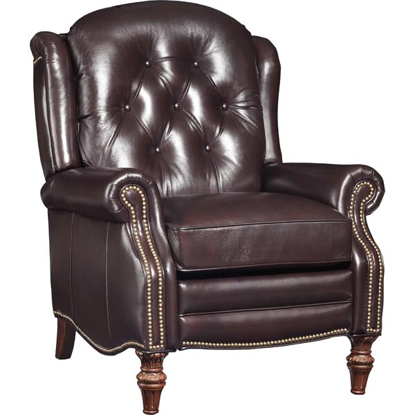 Victoria Leather Manual Recliner by Hooker Furniture