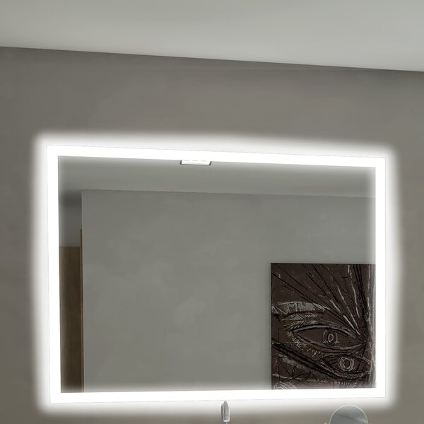 Rectangle Backlit Bathroom/Vanity Wall Mirror by P