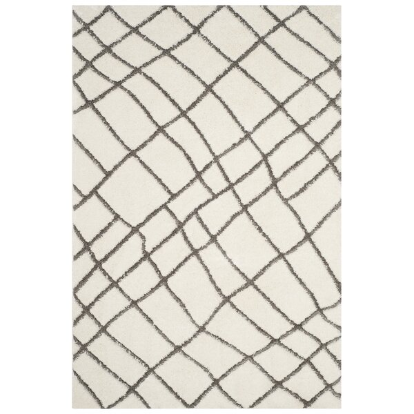 Isair Ivory Area Rug by 17 Stories