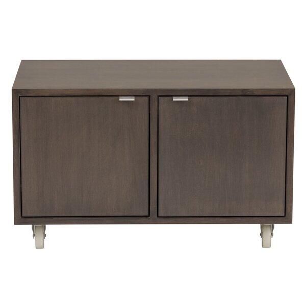 Media 2 Door Storage Cabinet by Urbangreen Furniture
