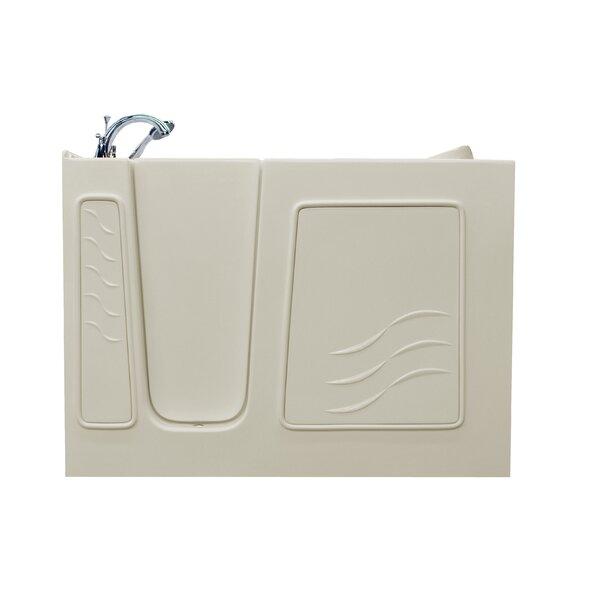 Ashton 29.5 x 52.8 Soaking Bathtub by Therapeutic Tubs
