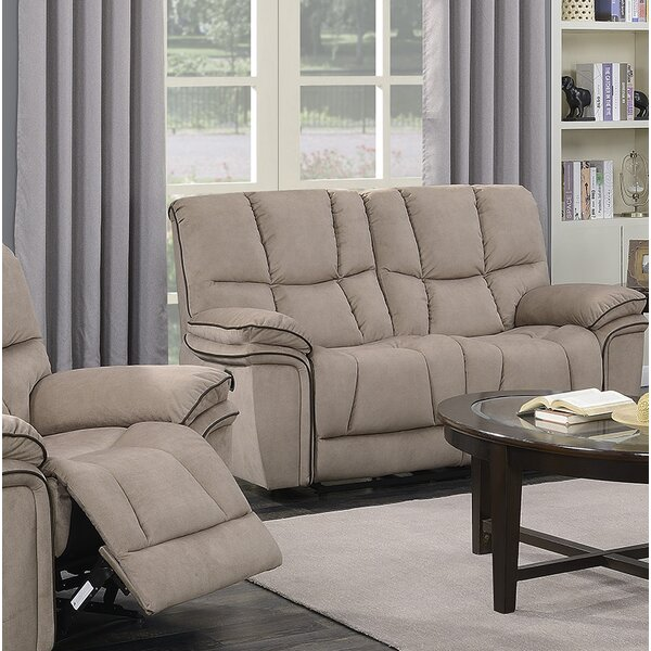Online Shopping Discount Coen Reclining Loveseat by Red Barrel Studio by Red Barrel Studio