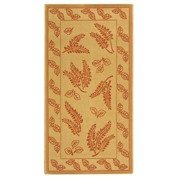 Wysocki Natural/Terra Indoor/Outdoor Area Rug by August Grove