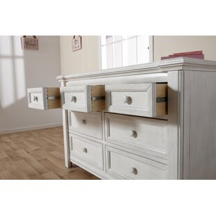 Best Reviews Cristallo 7 Drawer Double Dresser By PALI