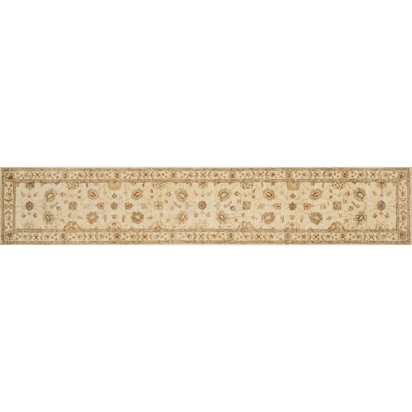 Durden Hand-Knotted Ivory Area Rug by Darby Home Co