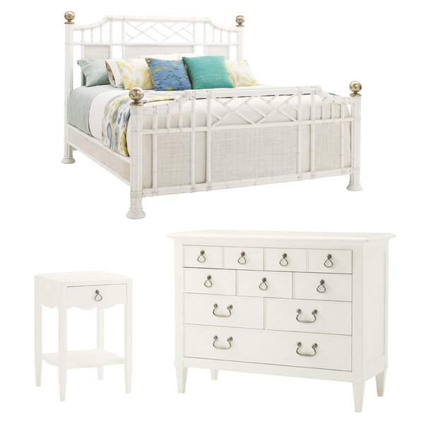 Ivory Key Panel Configurable Bedroom Set by Tommy Bahama Home