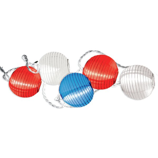 Patriotic American Summer String Lighting by Amscan