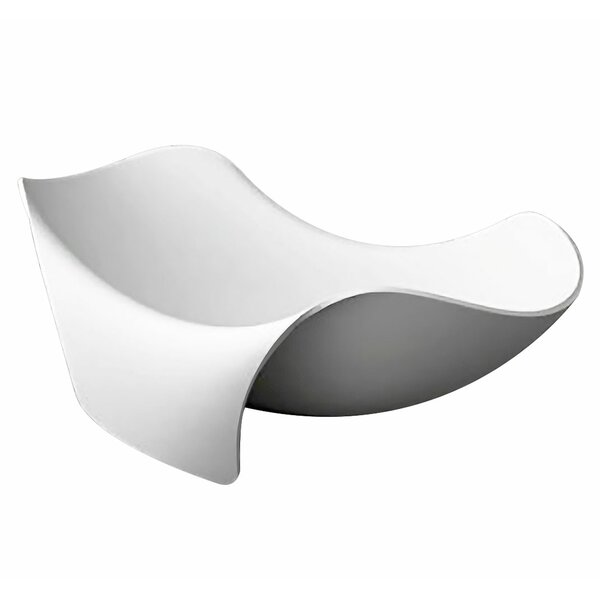 Cielo 78.7 x 55 Freestanding Soaking Bathtub by ANZZI