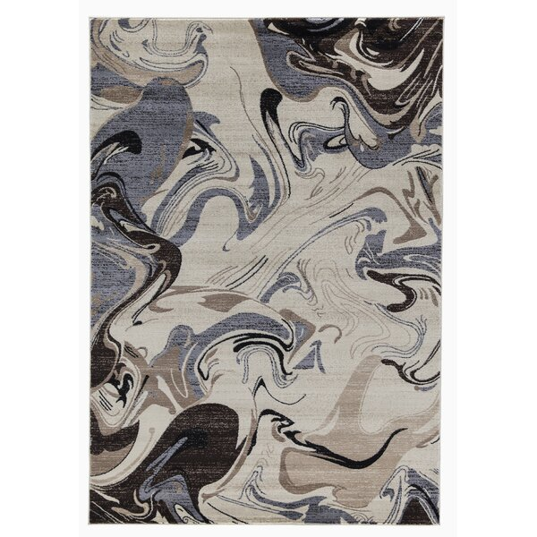 Railey Cream Area Rug by Orren Ellis
