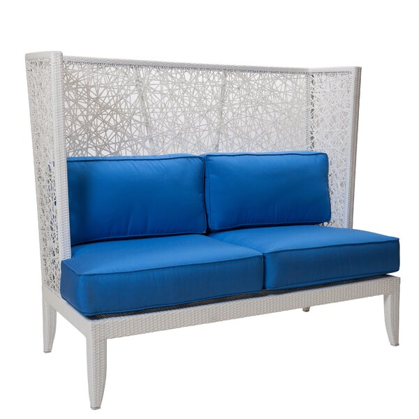 Mykonos Loveseat with Cushions by David Francis Furniture