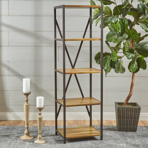 Burville Wood Standard Bookcase by Gracie Oaks