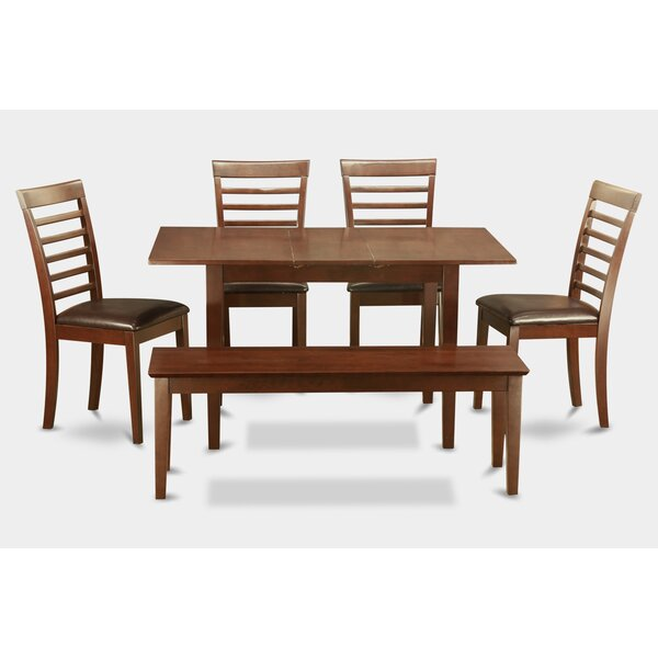 Best Choices Balfor 6 Piece Extendable Dining Set By Andover Mills Savings