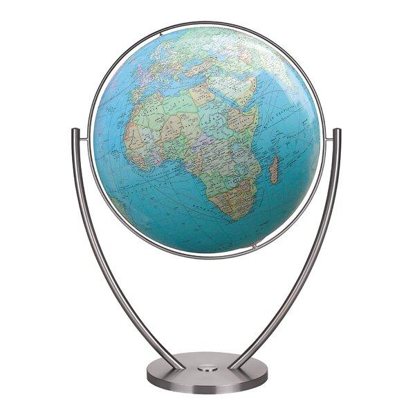 Magnum Plus Duo Illuminated Floor Globe by Columbu
