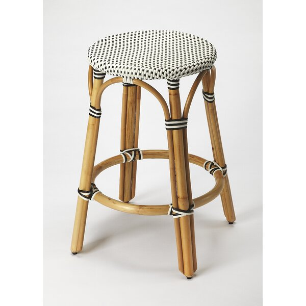 Campbellton County Coastal 24 Bar Stool by Beachcrest Home| @ $339.00