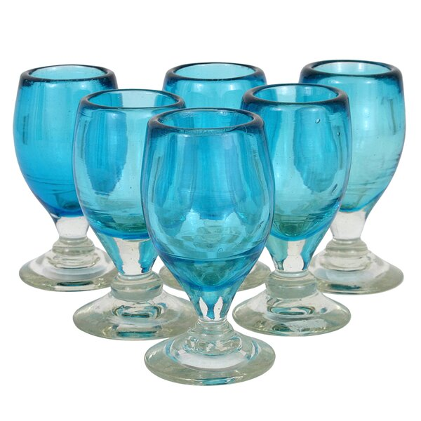 Quirarte Family Celebration Blown Glass (Set of 6) by Novica