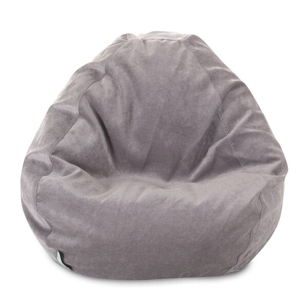 Standard Velvet Bean Bag Chair & Lounger By Mack & Milo