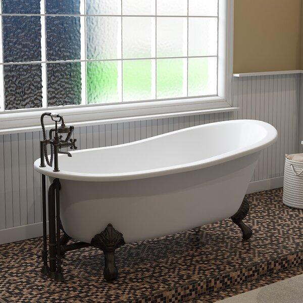 67 x 31 Clawfoot Soaking Bathtub by Cambridge Plumbing