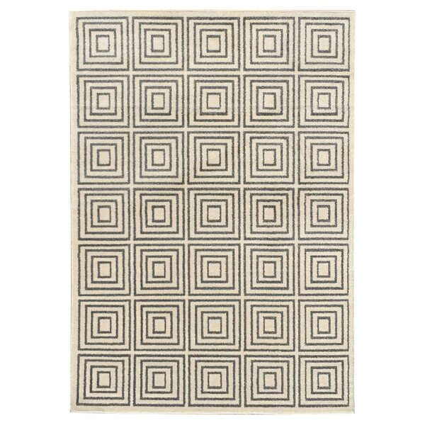 Milsap Gray Indoor/Outdoor Area Rug by Wrought Studio