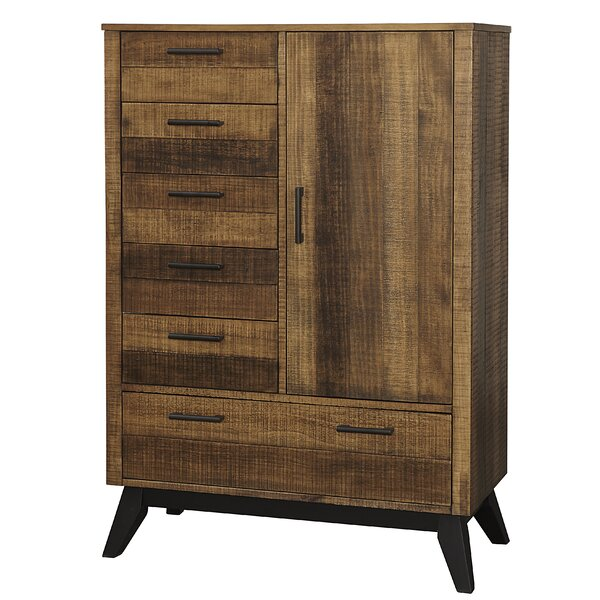 Hagy Chifferobe 6 Drawer Gentlemans Chest by Isabelle & Max