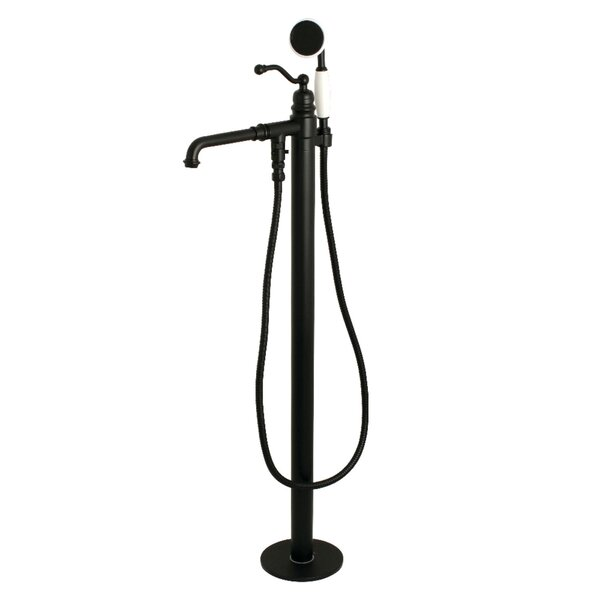 Roman Single Handle Tub Filler With Hand Shower by Kingston Brass