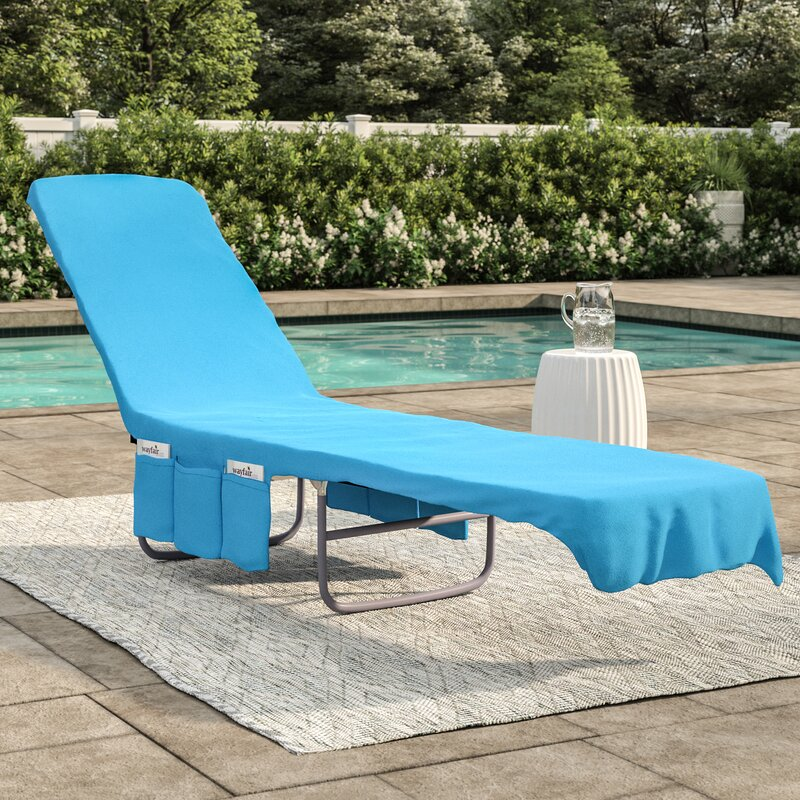 Terry Cloth Chaise Pool Lounge