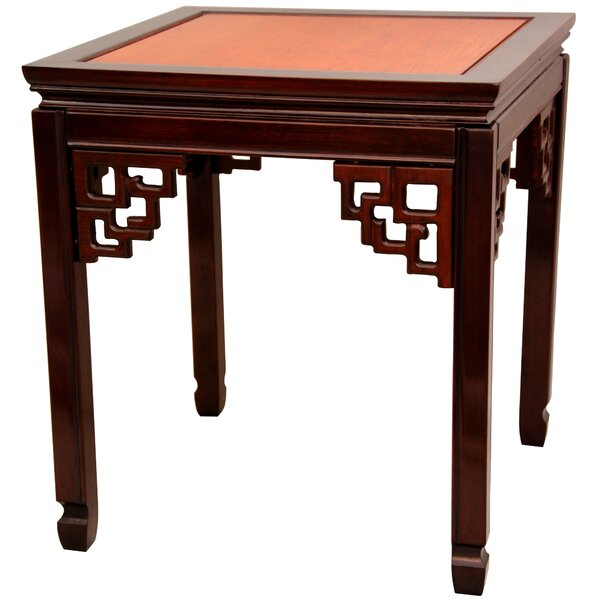 Lapathos End Table By World Menagerie