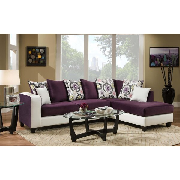 Online Shop Linzy Right Hand Facing Sectional by Latitude Run by Latitude Run