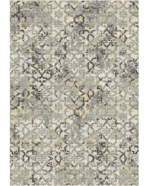 Raybon Taupe/Gray Area Rug by Bloomsbury Market