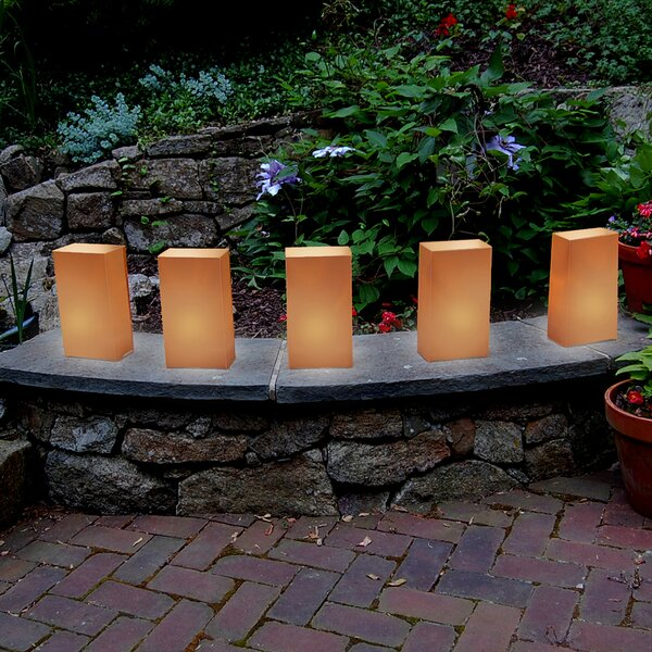 Tan Candle Luminaria Kit by Luminarias