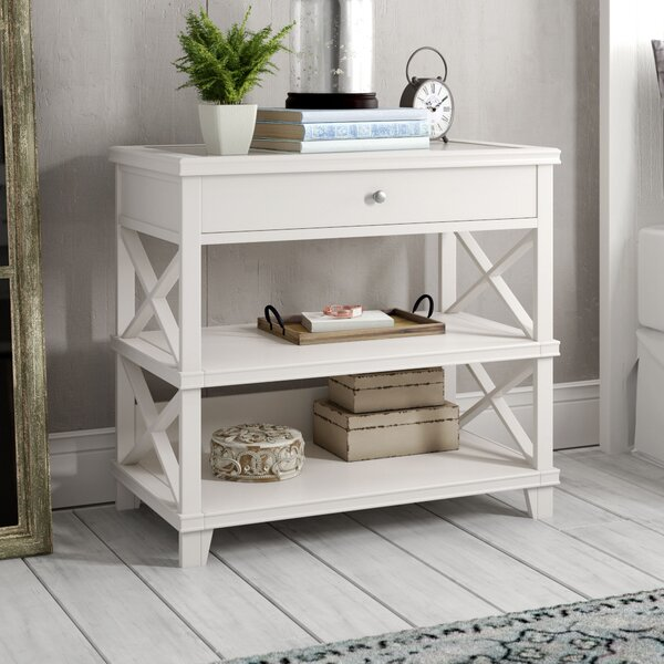 Meansville 1 Drawer Nightstand By Three Posts by Three Posts Herry Up