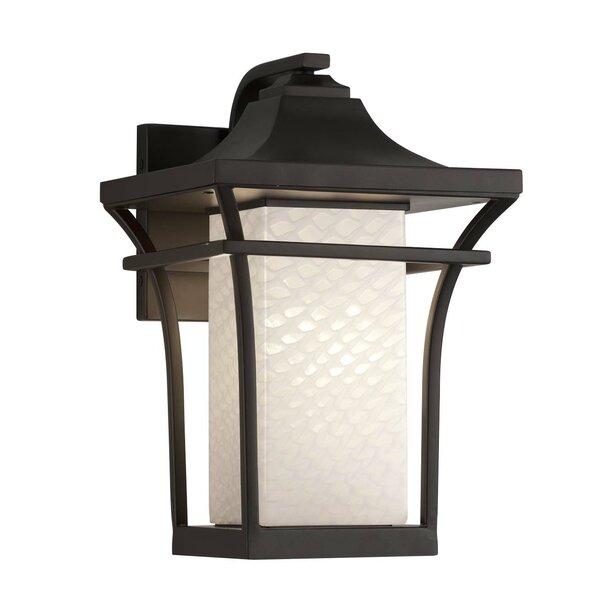 Luzerne Small LED Outdoor Wall Lantern by Brayden Studio