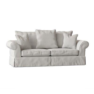 """Bleckley 98"""""""" Rolled Arm Sofa Body Fabric: Cruise Adrift -  BirchLane, C71F3775FEAE4A3A870B74B75FF81EBC"""