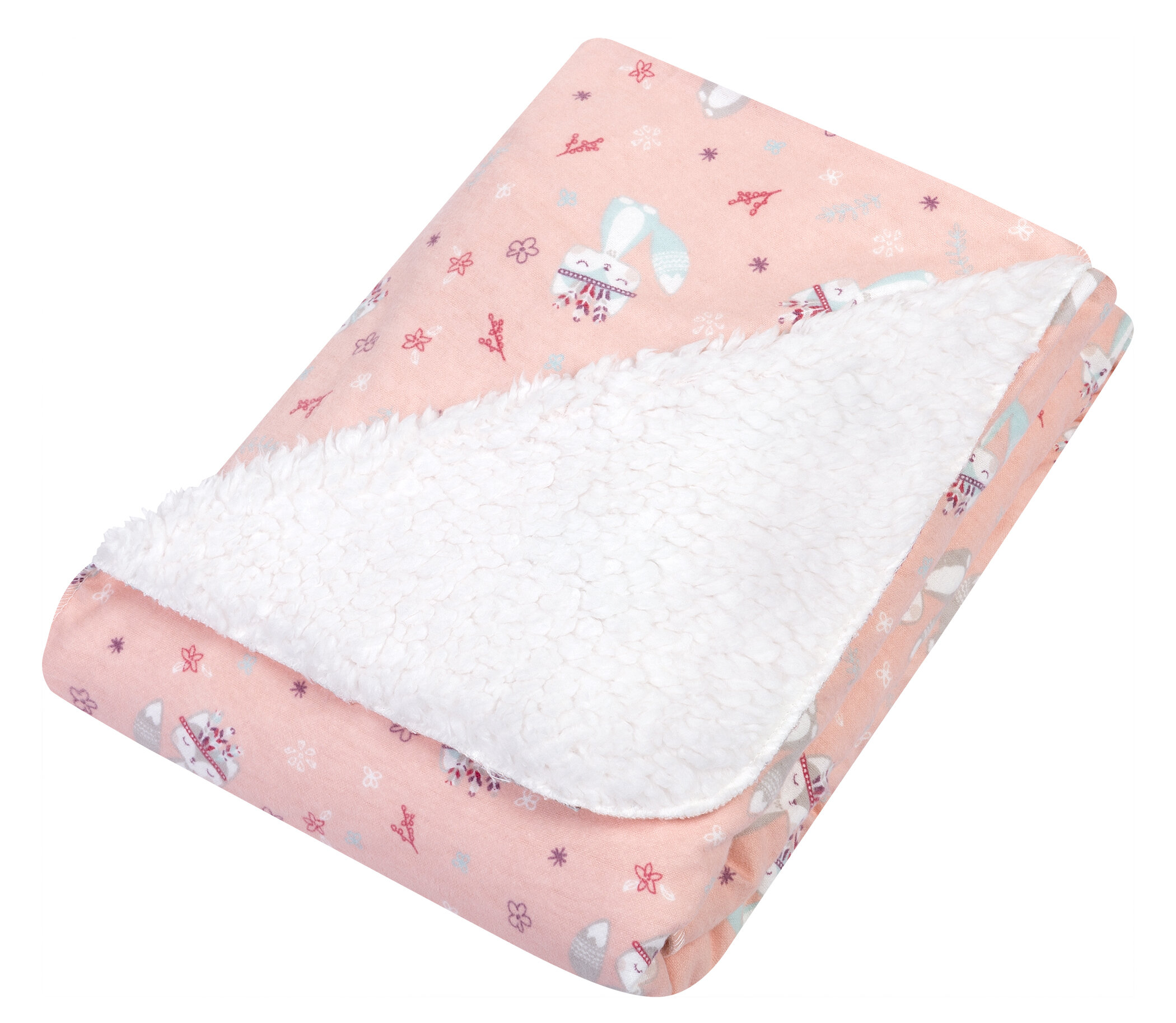 Ouneed Newborn Baby Artificial Fur Backdrop Flannel Receiving Blanket