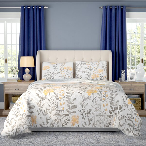 Hilliard 3 Piece Reversible Quilt Set by Three Posts
