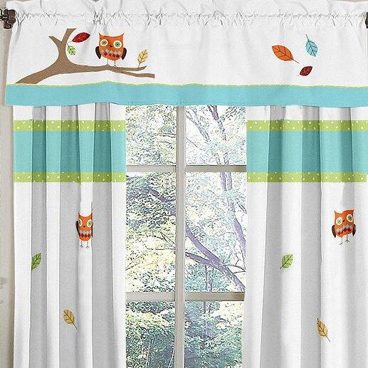 Hooty 54 Curtain Valance by Sweet Jojo Designs