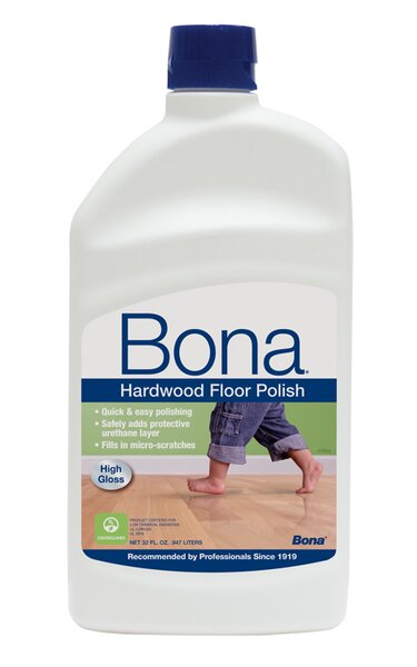 High Gloss Hardwood Floor Polish - 32 oz by Bona Kemi