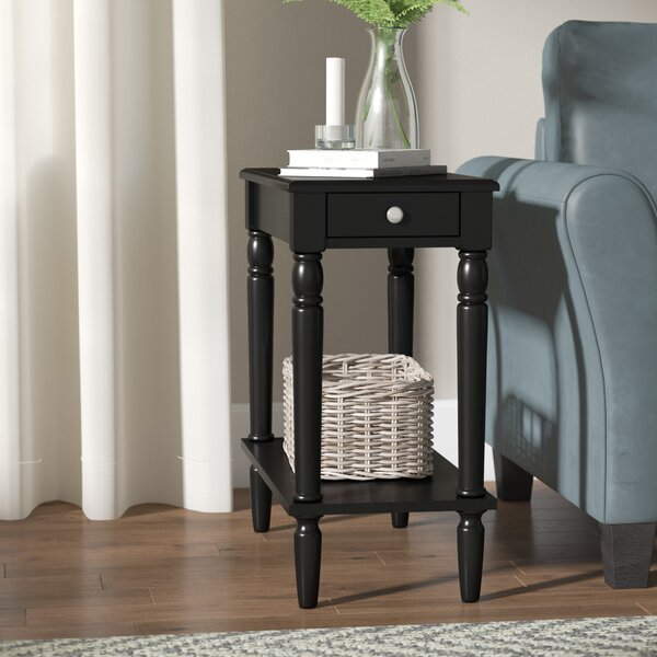 Ariella End Table With Storage By Andover Mills Great price